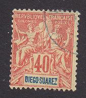 Diego-Suarez, Scott #47, Used, Navigation And Commerce, Issued 1894 - Diego-suarez (1890-1898)