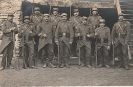 Militaire : Carte-photo : Soldats En Armes - En Pose - 108ém. Régt. D'infanterie - War 1914-18