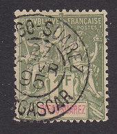 Diego-Suarez, Scott #50, Used, Navigation And Commerce, Issued 1894 - Diego-suarez (1890-1898)