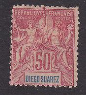 Diego-Suarez, Scott #48, Mint No Gum, Navigation And Commerce, Issued 1894 - Diego-suarez (1890-1898)