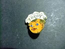 PIN Chocolate Toddy 1953 - PIN Toddy Chocolat 1953 - Alimentación