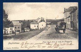 Neufchâteau. Place De La Foire Et Route De Florenville. 1904 - Neufchâteau