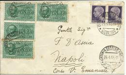 LUC144-Espresso Con Coppia 1 £ Imperiale S.f. + 4x 1,25 £ Expr. Imperiale 26.04.1945 - Bello - 5. 1944-46 Lieutenance & Humberto II