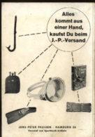 Hamburg Katalog Tauchen Camping Waffen 1962 Versandhandel Jens Peter Paulsen Taucher Uhren Antiquariat Alte Bücher - Catalogues