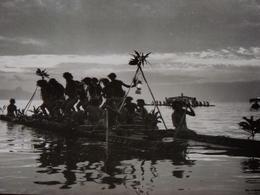 Rare!  Belle Photo Ancienne Tahiti Otea Du Roi Raiatea Ethnic Ethnique Tampon Photographe - Tahiti