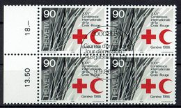 Schweiz 1986 // Mi. 1330 O 4er - Schweiz