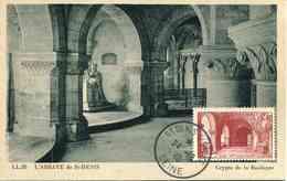 """CP De 1946 Avec Timbre """"SAINT-DENIS"""" - Oblit. ST DENIS S/SEINE 24 - 10 - 46 - Frankreich"""