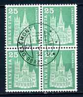 SVIZZERA - HELVETIA - Year 1960 - QUARTINA - Viaggiato - Traveled - Voyagè - Gereist. - Svizzera