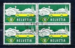 SVIZZERA - HELVETIA - Year 1953 - QUARTINA - Viaggiato - Traveled - Voyagè - Gereist. - Svizzera