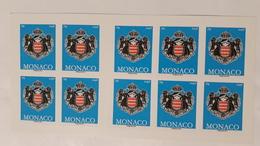 MONACO 2012 LIBRETTO L2844 STEMMA  ( FONDO AZZURRO)MNH** - Libretti