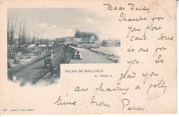 4064  AK   PALMA  DE  MALLORCA - Spanien