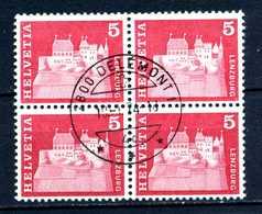 SVIZZERA - HELVETIA - Year 1968 - QUARTINA - Viaggiato - Traveled - Voyagè - Gereist. - Svizzera
