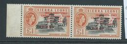 "Sierra Leone 1963 Postal Anniversary 1 Pound "" Asterisk For Hyphen "" Variety MNH - Sierra Leone (1961-...)"