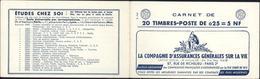 Carnet Repertoire Franck Dallay C20 5F 25 7 61 PTT - Libretas