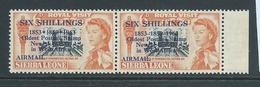 "Sierra Leone 1963 Postal Anniversary 6 Shilling Airmail  "" Asterisk For Hyphen "" Variety MNH - Sierra Leone (1961-...)"