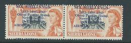 "Sierra Leone 1963 Postal Anniversary 6 Shilling Airmail  "" 1895 For 1859 "" Variety MNH - Sierra Leone (1961-...)"