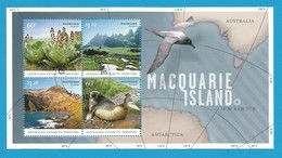 AAT 2010 Mi.Nr. Sheet 5 (183/186) , Macquarie Island - Gestempelt / Fine Used / (o) - Territoire Antarctique Australien (AAT)