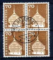 SVIZZERA - HELVETIA - Year 1967 - QUARTINA-  Viaggiato - Traveled - Voyagè - Gereist. - Svizzera