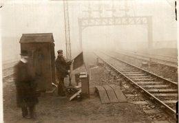 VAUCHALL SIGNALMAN  Fonds Victor FORBIN (1864-1947) - Trenes
