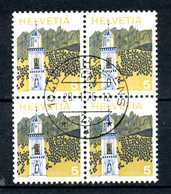 SVIZZERA - HELVETIA - Year 1973 - QUARTINA-  Viaggiato - Traveled - Voyagè - Gereist. - Svizzera