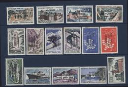 Série 15 Timbres OAS Surchargé Algérie Française 13 Mai 1958 YT 1236 à 38 + 1309 à 6 + 1318 + 1325 à 27 Guerre Algérie - Algérie (1924-1962)