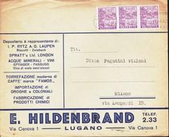SUISSE - Busta 11/4/1936  Svizzera.pubblicitaria. - Svizzera