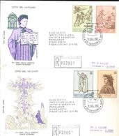 1965 - FDC (001609) VIAGGIATA COME RACCOMANDATA BOLLO D'ARRIVO AL VERSO - FDC