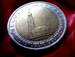 2 Euro 2008 -  J - Germany Hamburg Allemagne Germany Alemania Германия Deutschland CIRCULEET  COIN - Allemagne