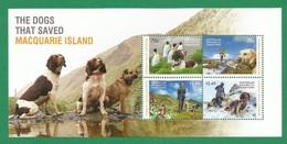 AAT   2015 ,  Sheet  - The Dog That Saved  Macquarie Island - Postfrisch / MNH / (**) - Territoire Antarctique Australien (AAT)