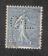 Perfin/perforé/lochung France No 132 C-L  Crédit Lyonnais (229) - Frankreich