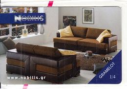 GREECE - Nobilis Furniture, Interline Promotion Prepaid Card, Tirage 1000, Exp.date 30/05/03, Mint - Greece