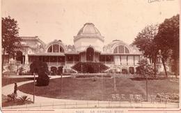Photo Sur Carton 11 X 16,5 : Aix Le Bains (73) Le Cercle D'Aix  Vers 1880  Photo A Garcin Genève  1009 - Photos