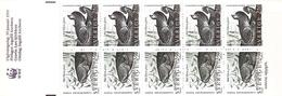 Sweden 1991 Freshwater Fish Stamp Booklet MNH Welsh Catfish, Spine & Stone Loach, Gudgeon, Sunbleak - Fishes