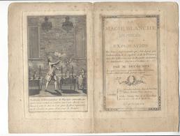 MAGIE MAGIC EXTRAIT DU LIVRE LA MAGIE BLANCHE Decremps 1784 GRAVURE QUEVERDO /FREE SHIP. R - Religione & Esoterismo