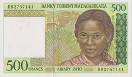 Madagascar / 500 Francs / 1995 / P-75(b) / UNC - Madagascar