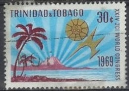 1969  30 Cents Chamber Of Commerce Conference, Used - Trinidad & Tobago (1962-...)
