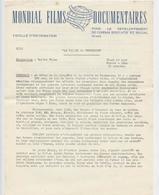 Mondial Films Documentaires, La Vallée Du Tennessee, Photos, Barrage, électrification, Agriculture, Cinéma Vers 1950 - Other Collections