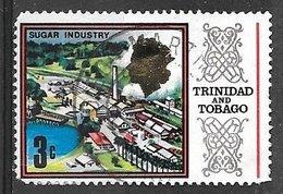 1969 3 Cents Sugar Refinery, Used - Trinidad & Tobago (1962-...)