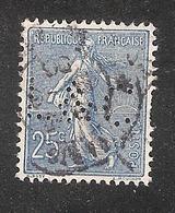 Perfin/perforé/lochung France No 132 L&C Lingeman Et Cie - Frankreich