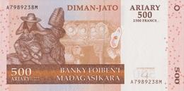 Madagascar / 500 Ariary / 2004 / P-88(a) / UNC - Madagascar