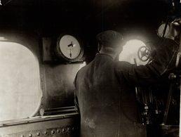 AUTOMATIC SIGNALLING Fonds Victor FORBIN (1864-1947) - Trenes