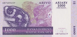 Madagascar / 1000 Ariary / 2004 / P-89(a) / UNC - Madagascar
