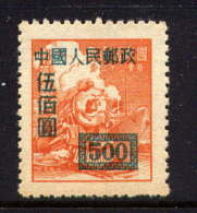 CHINE - 846(*) - LOCOMOTIVE - 1949 - ... République Populaire