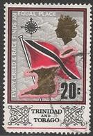 1969 20 Cents Flag, Used - Trinidad & Tobago (1962-...)