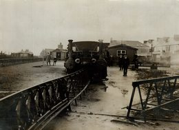 BALLYBUNION RAILWAY IRELAND  Fonds Victor FORBIN (1864-1947) - Trenes