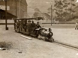MINITURE TRAIN   Fonds Victor FORBIN (1864-1947) - Trenes