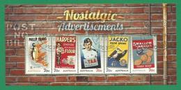 Australien 2014 Mi.Nr. Sheet 219 ( 4161 / 4165 ) , Nostalgic Advertisements - CTO Gestempelt / Fine Used (o) - 2010-... Elizabeth II