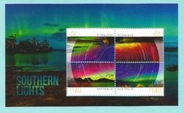 Australien 2014 Mi.Nr. 4171 / 74 , Sheet 220 , Southern Lights - CTO Gestempelt / Fine Used / ( O) - - 2010-... Elizabeth II