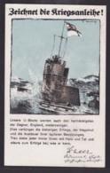 """WWI 1917 """"ZEICHNET DIE KRIEGSANLEIHE""""  """" U-BOOT PC MARINE SCHIFFPOST # 87""""  (STAMPEDE 18879) - Oorlog 1914-18"""