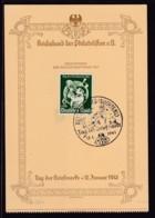 """1941 SPECIAL SOUVENIR CARD """"STAMP DAY / TAG DER BRIEFMARKE""""   (STAMPEDE 18948) - Briefmarken (Abbildungen)"""